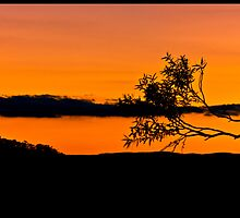 Echo Point Sunset by Natasha Crofts