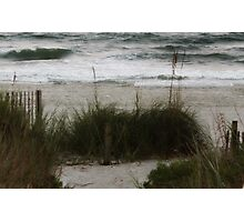 Quiet moment near the ocean Photographic Print