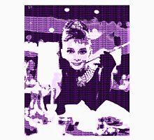 Audrey Hepburn Breakfast at Tiffany's Purple  Unisex T-Shirt