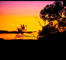 Echo Point Sunset 2 by Natasha Crofts