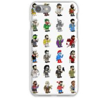 The Costumes of Luigi iPhone Case/Skin