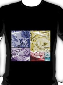 dragon ball z goku vegeta anime manga shirt T-Shirt