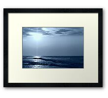 a Blue Horizon Framed Print