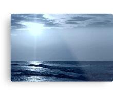 a Blue Horizon Metal Print