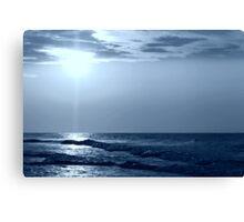 a Blue Horizon Canvas Print