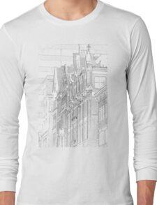 Kenmore Hotel Facade Long Sleeve T-Shirt
