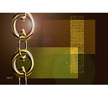 Chain Chain Chain Photographic Print