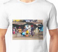 People collecting water in Nairobi - KENYA Unisex T-Shirt