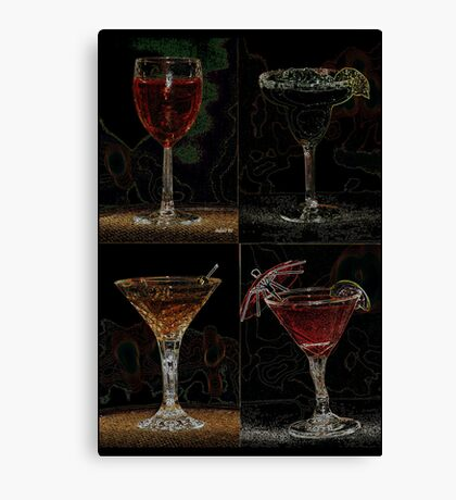 Drink Combo 4 Canvas Print