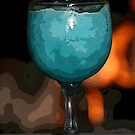 Frozen Blue Daquari PE by Rick Baber