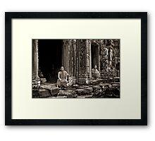 Angkor Wat - Part 5 Framed Print