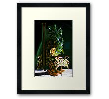 Funky Pineapple Framed Print