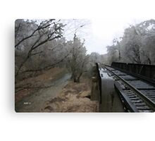 Gravette Trestle Canvas Print