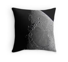 Northern Lunar Pole, Seas of Cold, Serenity, and Tranquility - Landolt Telescope Throw Pillow