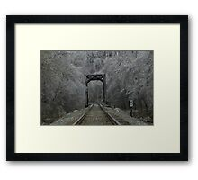 Ice Storm 2 Framed Print