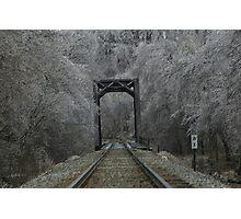 Ice Storm 2 Photographic Print