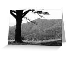 Blue Ridge Mountains, Virginia Greeting Card
