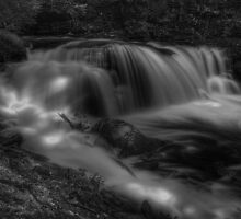 Ragin' Cayuga Falls by Aaron Campbell