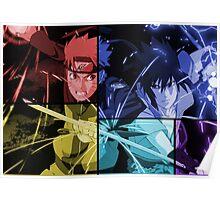 naruto shippuden sasuke uchiha anime manga shirt Poster