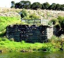 Merri river - old Bridge - Warrnambool by EdsMum
