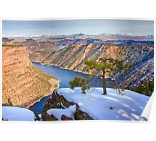 Flaming Gorge at Red Canyon Poster