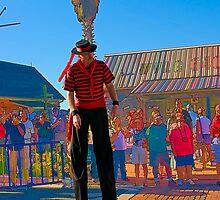 The Man On Stilts by DeerPhotoArts