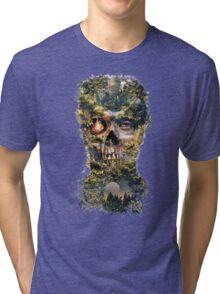 The Gatekeeper Dark Surrealism Art Tri-blend T-Shirt