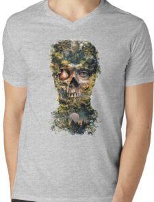 The Gatekeeper Dark Surrealism Art Mens V-Neck T-Shirt