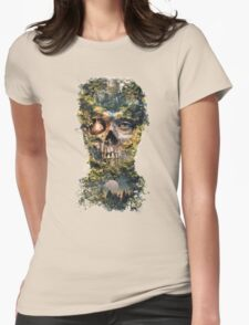 The Gatekeeper Dark Surrealism Art Womens Fitted T-Shirt
