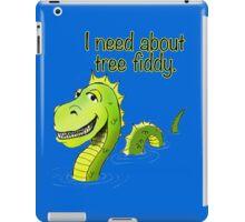 Loch Ness Monster Tree Fiddy iPad Case/Skin