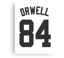 ORWELL - 84 Canvas Print