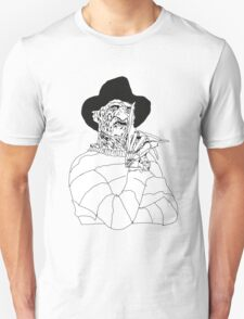 Freddy - Tribute to Wes Craven T-Shirt