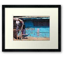 Hotel New Jam Ways Paradise in Nairobi - KENYA Framed Print
