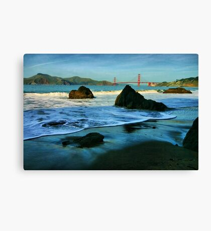 Heading for the Golden Gate Canvas Print