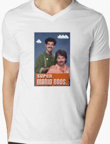 The Plumber Bros Mens V-Neck T-Shirt
