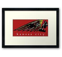 Kansas City Chiefs Framed Print