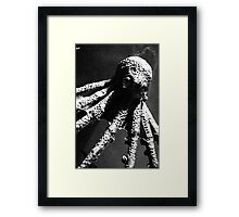 Octopus From Another World! Framed Print