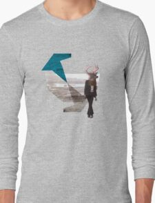 Deer over city Long Sleeve T-Shirt