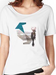 Deer over city Women's Relaxed Fit T-Shirt
