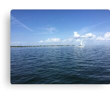 Perfect Florida Day Canvas Print