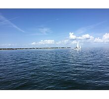 Perfect Florida Day Photographic Print