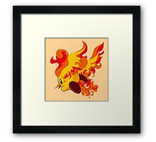 Moltres | Kirby Edition Framed Print