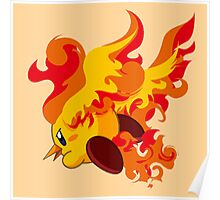Moltres | Kirby Edition Poster