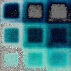 Blue Squares on Grey by Igor Shrayer