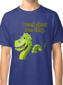 Loch Ness Monster Tree Fiddy Classic T-Shirt