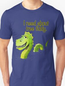 Loch Ness Monster Tree Fiddy Unisex T-Shirt