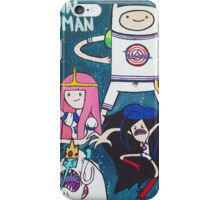 Adventure Time x Space Jam  iPhone Case/Skin