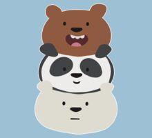 Bear Stack  Kids Tee