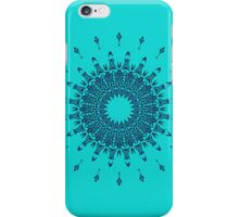 Blue Symmetry iPhone Case/Skin