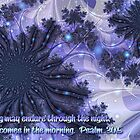 Joy Comes in the Morning Card by rocamiadesign